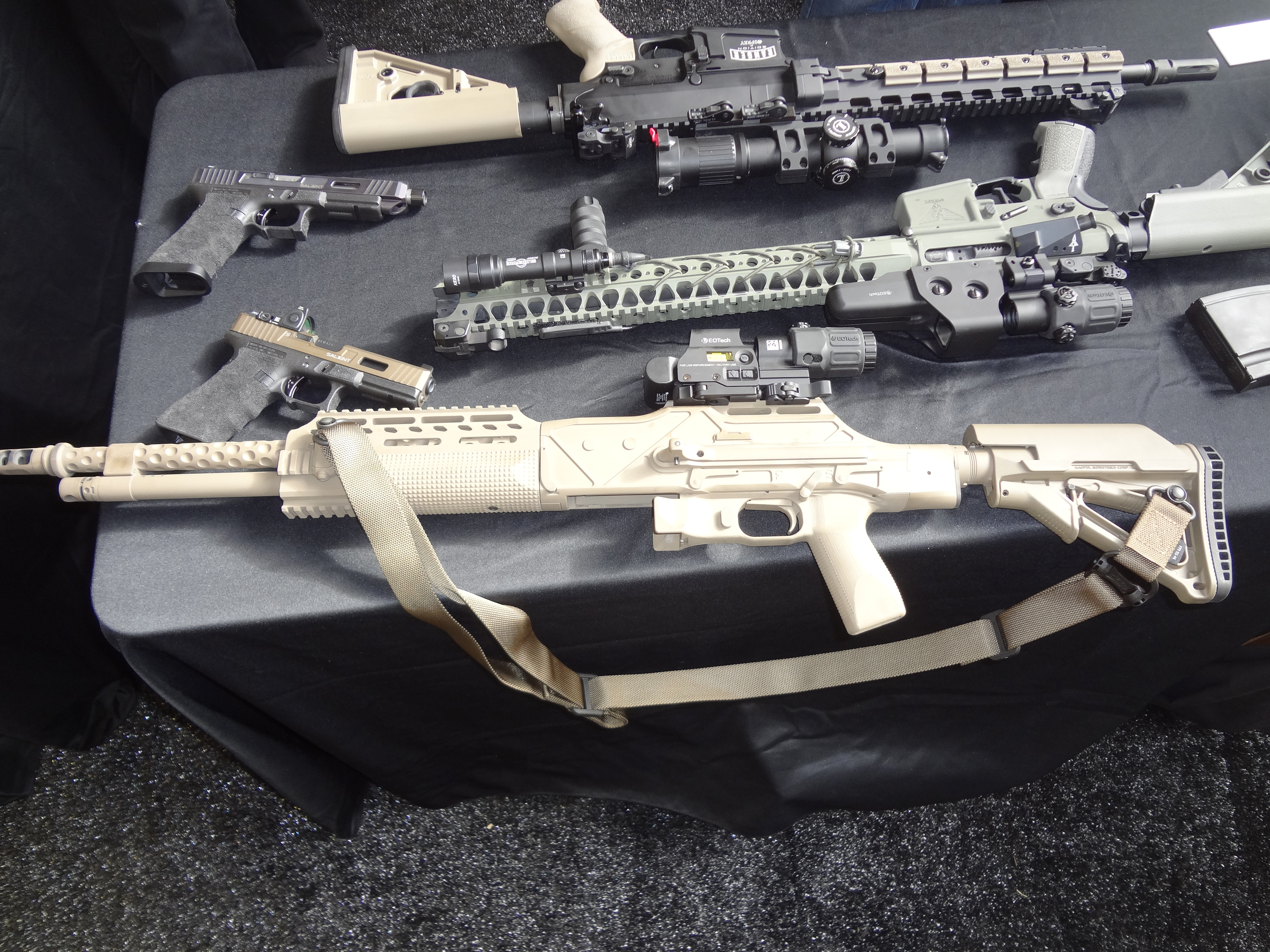 Ohio Ordnance HCAR Heavy Combat Assault Rifle SOPMOD BAR Browning Automatic Rifle .30 06 Springfield Caliber Steven Perry Osprey Global Solutions OGS SOFEX 2013 Jeff Gurwitch DefenseReview.com DR 1 Ohio Ordnance HCAR (Heavy Combat Assault Rifle): Quick, Cursory Analysis of a Modernized SOPMOD BAR (Browning Automatic Rifle) (Video!)