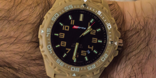 ArmourLite introduces Isobrite Valor Series Diving/Tactical Watches Offering Ultra Bright T100 Tritium Illumination with New Bold Colors
