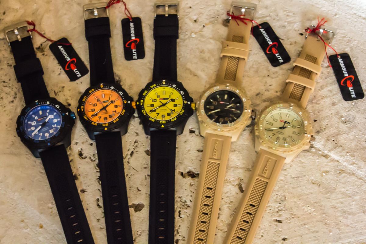 ArmourLite Isobrite Valor Polycarbonite Diving Tactical Watch 6 ArmourLite introduces Isobrite Valor Series Diving/Tactical Watches Offering Ultra Bright T100 Tritium Illumination with New Bold Colors