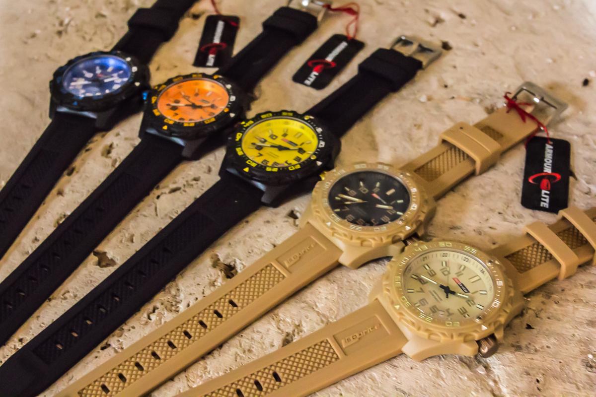 ArmourLite Isobrite Valor Polycarbonite Diving Tactical Watch 7 ArmourLite introduces Isobrite Valor Series Diving/Tactical Watches Offering Ultra Bright T100 Tritium Illumination with New Bold Colors