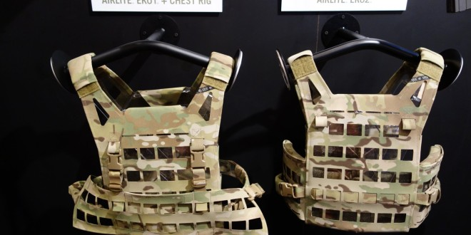 Crye Precision AirLite EK02/EK04 (and EK01/EK03) Ultra-Minimalist Cutaway MOLLE Plate Carrier/Tactical Vest (Body Armor) and Chest Rig for Direct Action and other Short-Duration Military Special Operations Forces (SOF) Missions