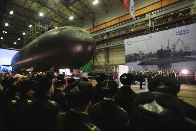 Russian Novorossiysk Diesel Electric Silent Stealth Submarine RIA Novosti Igor Russak 1 Russian Novorossiysk Diesel Electric Silent/Stealth Submarine: New Silent Sub Creates Virtually Undetectable Maritime Black Hole