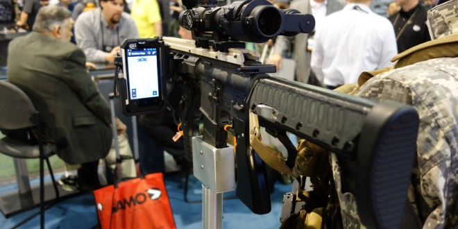 Colt SWORD (Sniper Weapon and Observer Reconnaissance Devices) Networked Weapons Targeting System  for Netcentric Warfare (Network-Centric Warfare) Demonstrated for DR at SHOT Show 2014 (Video!)