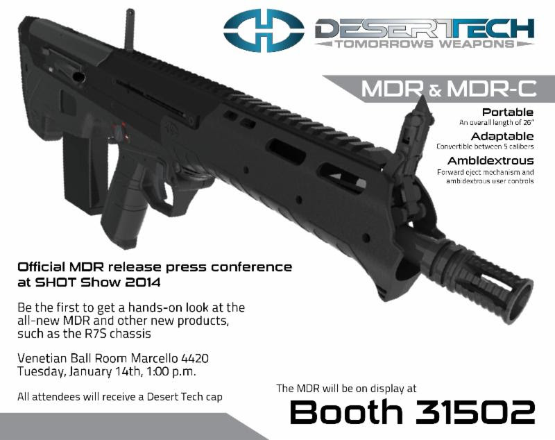Desert Tech DT MDR and MDR C Micro Dynamic Rifle Modular Multi Caliber Semi Auto Bullpup Anti Materiel Sniper Rifle Carbine Systems 1 Desert Tech DT MDR and MDR C (Micro Dynamic Rifle) Modular, Multi Caliber and Ambidextrous Semi Auto Bullpup Combat/Tactical Rifle/Carbine Systems for Tactical Ops