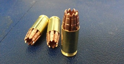 G2 Research G2R R.I.P. 9mm Round Bullet 1 G2 Research Radically Invasive Projectile (G2R R.I.P.) 9mm Round/Bullet and Advanced Ballistic Concepts Multiple Impact Bullet (MIB) Mi 3 Pulse Stopper (Lethal) and Stunner (Semi Lethal) 9mm Rounds/Bullets: Latest Super Ammo that Liquifies your Major Organs and Turns You Into Humanoid Mush with One Shot
