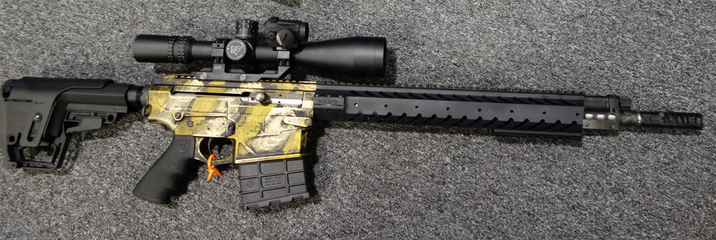 Nemo Arms Omen Recon 300 Win Mag 300wm 18 Tactical Ar