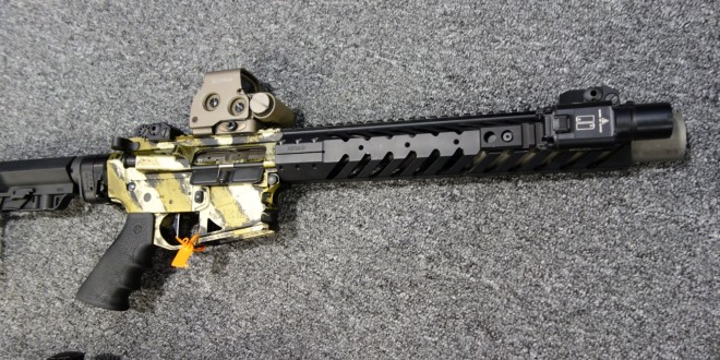 NEMO Arms Tango 6 300 Blackout (300BLK) Combat/Tactical AR SBR with Integral Gemtech GMT-300BLK G-Core Titanium Silencer/Sound Suppressor for Dynamic Gunfighting and Hunting! (Video!)
