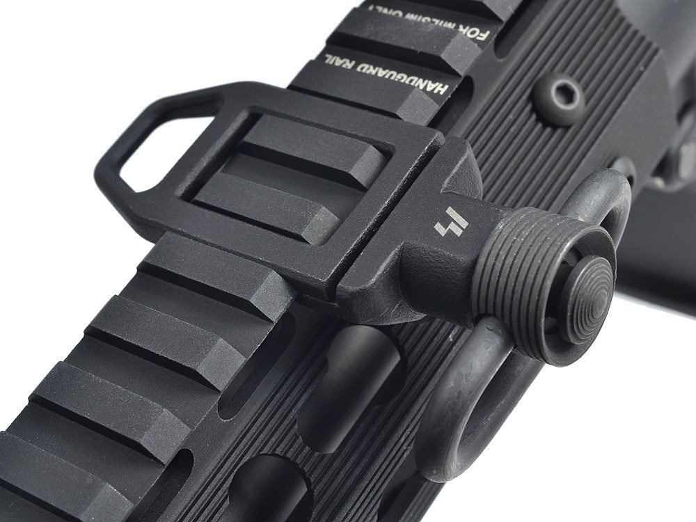 Strike Industries Ambush Low Profile Sling Loop for Tactical AR 15 Carbine SBRs DefenseReview.com DR 8 Strike industries SI Ambush Low Profile Sling Loop (LPSL) for Tactical AR 15 Rifle/Carbine/SBRs: Slick, Intelligent Design for Optimal Combat/Tactical Shooting Utility