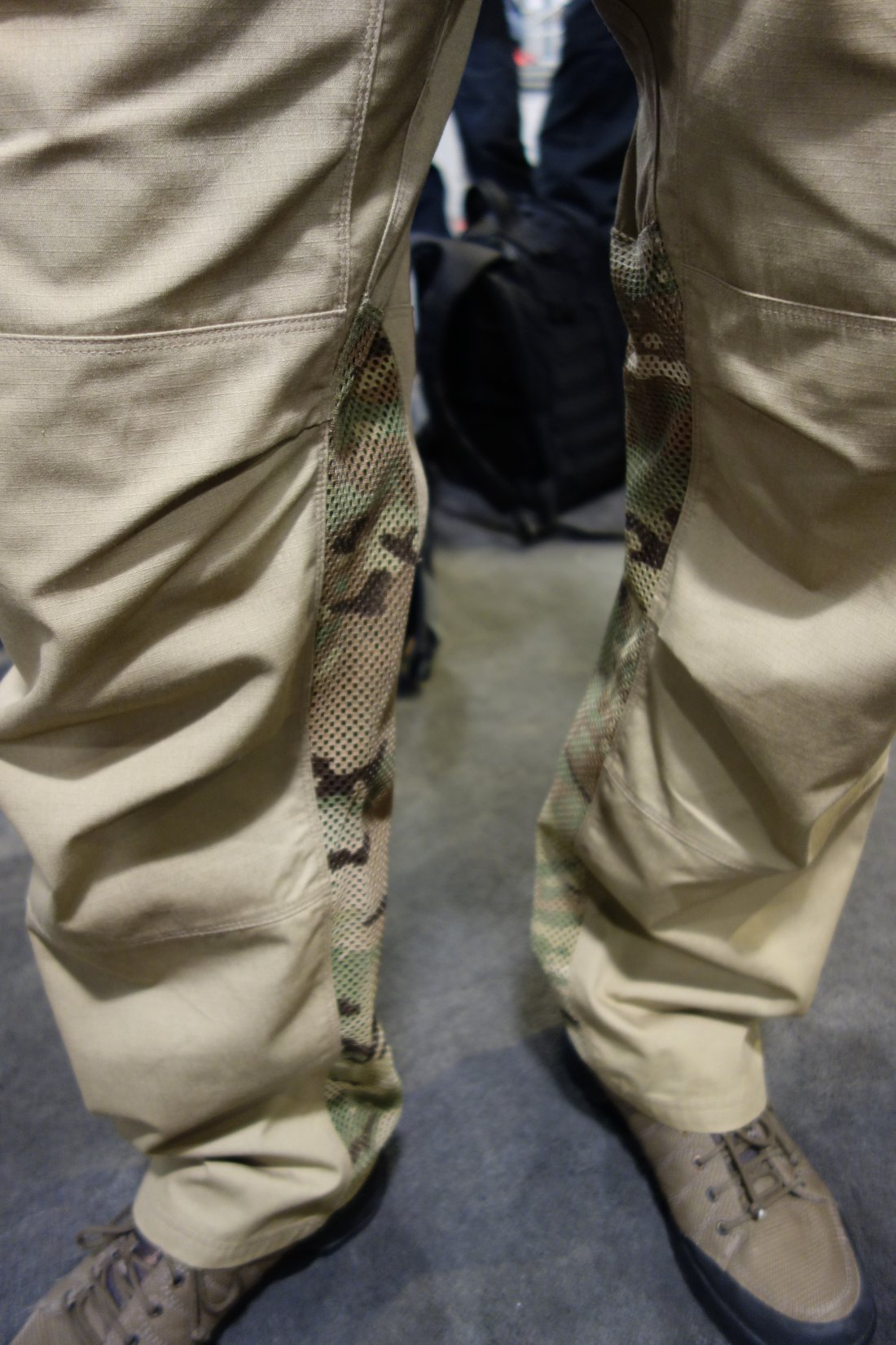 Vertx Airflow Phantom Ops Pant by Fighter Design Combat Tactical Pants with Passive Cooling Technology Evaporative Cooling Adam Slank SHOT Show 2014 David Crane DefenseReview.com DR 3 Vertx Airflow Phantom Ops Pant by Fighter Design: Combat/Tactical Pants with Passive Cooling Mesh Technology (Video!)