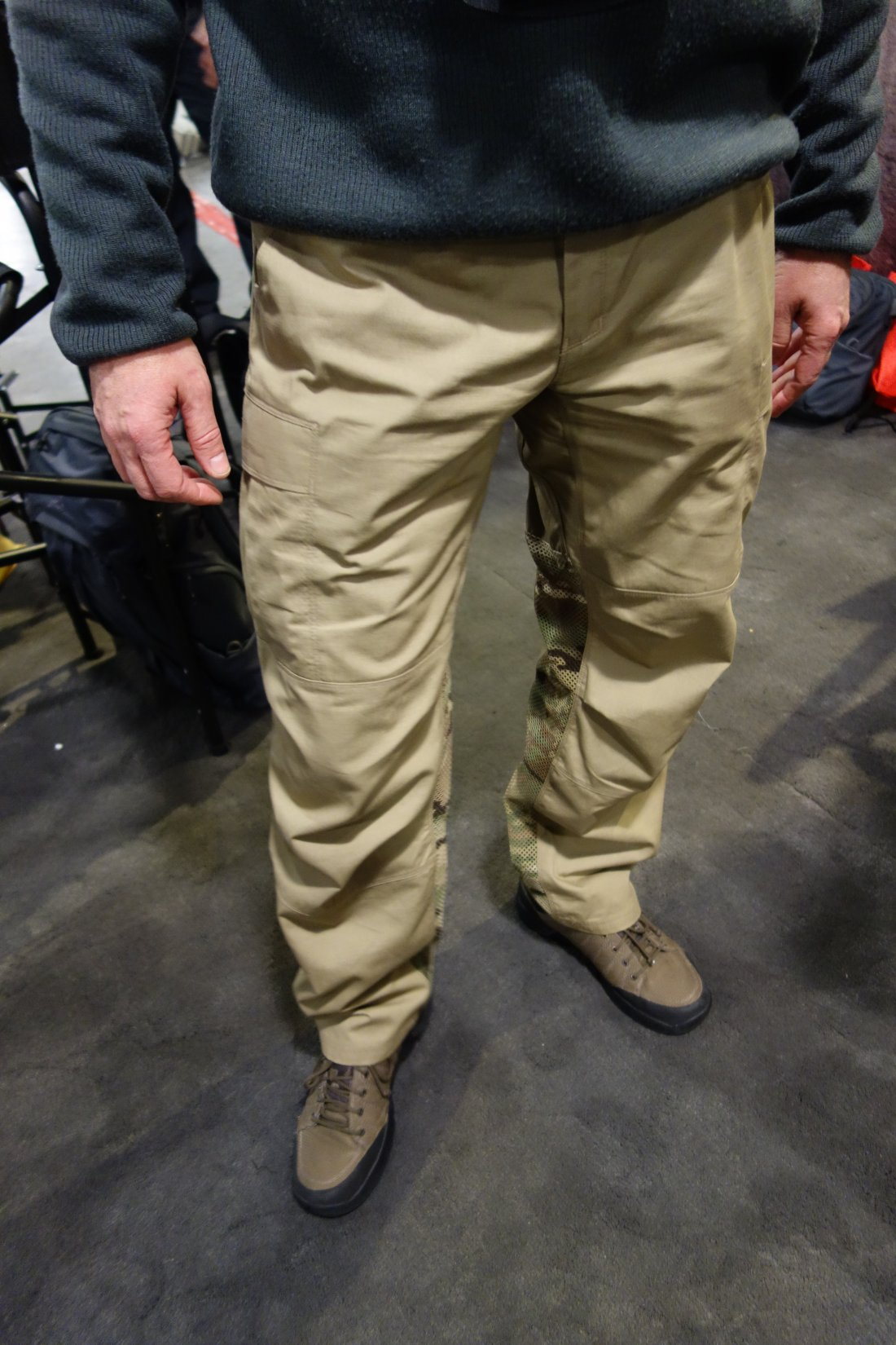 Vertx Airflow Phantom Ops Pant by Fighter Design Combat Tactical Pants with Passive Cooling Technology Evaporative Cooling Adam Slank SHOT Show 2014 David Crane DefenseReview.com DR 5 Vertx Airflow Phantom Ops Pant by Fighter Design: Combat/Tactical Pants with Passive Cooling Mesh Technology (Video!)