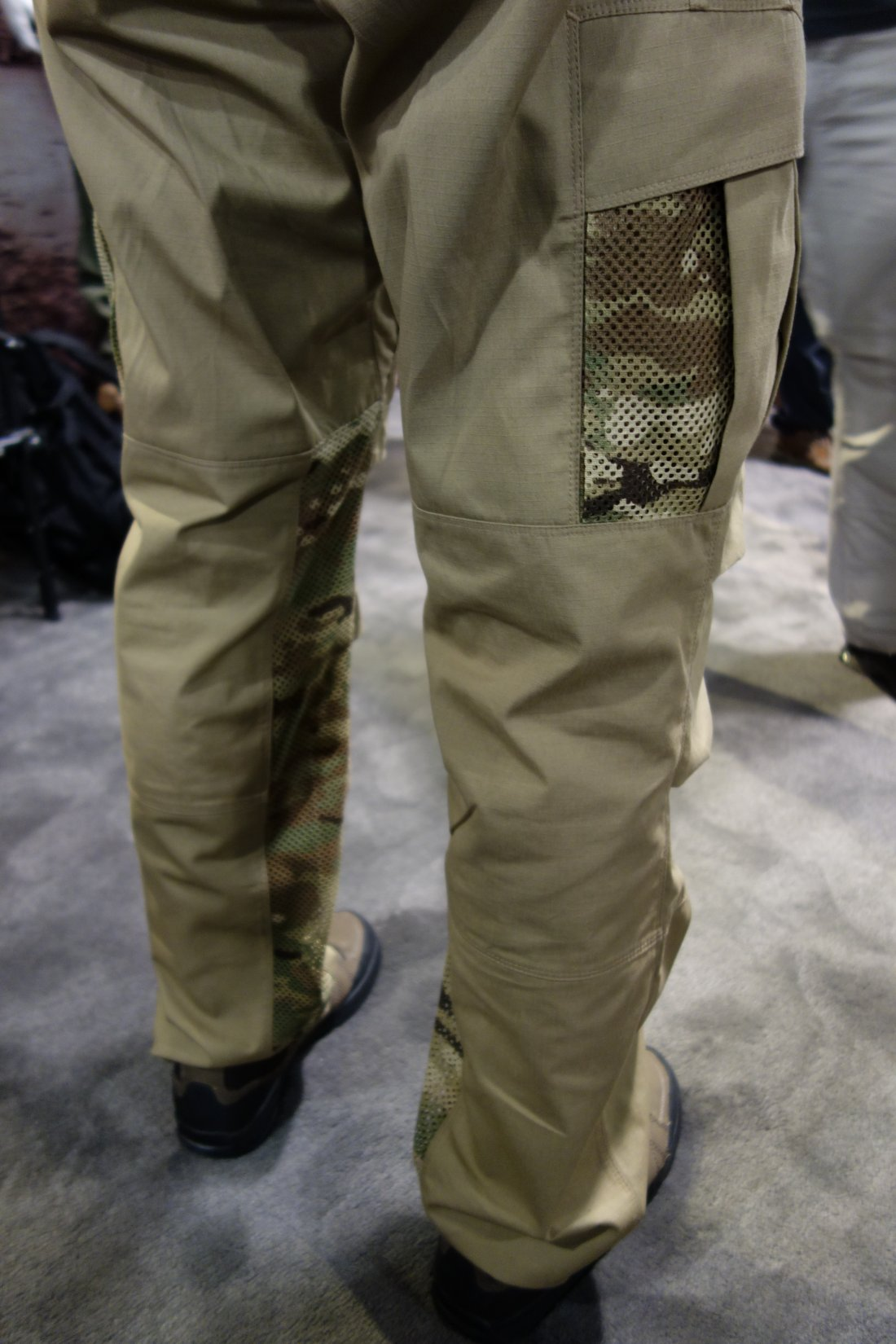 Vertx Airflow Phantom Ops Pant by Fighter Design Combat Tactical Pants with Passive Cooling Technology Evaporative Cooling Adam Slank SHOT Show 2014 David Crane DefenseReview.com DR 7 Vertx Airflow Phantom Ops Pant by Fighter Design: Combat/Tactical Pants with Passive Cooling Mesh Technology (Video!)