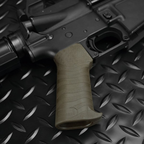 Strike Industries SI AR 15 M4 M16 Pistol Grip CQB Patriot Series Tactical AR Carbine SBR Pistol Grip 3 Strike Industries SI AR 15/M4/M16 Tactical Grip PRO Enhanced (SI PTG PRO E) and CQB Pistol Grip Patriot Series Tactical AR 15 Carbine/SBR (Short Barreled Rifle) Pistol Grips