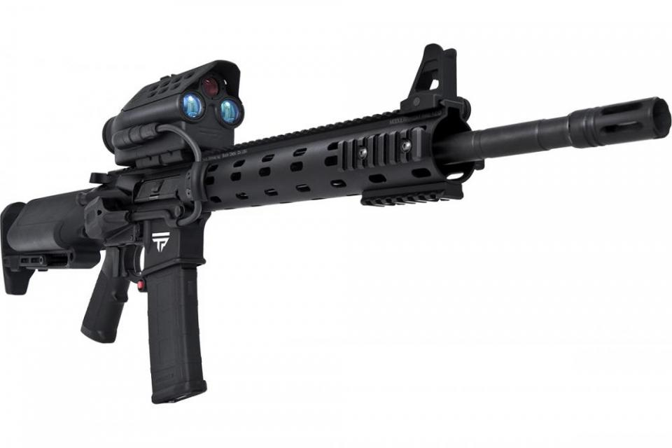 TrackingPoint TP AR 556 Precision Guided Firearm PGF 5.56mm Tactical AR 15 Carbine with TTX Smart Scope Technology 2 TrackingPoint TP AR 556 PGF (Precision Guided Firearm), TP AR 300 PGF, and TP AR 762 PGF: 5.56mm NATO/.223 Rem., 300 Blackout (300BLK) and 7.62mm NATO/.308 Win. Tactical/Battle AR Carbine/SBRs with TTX XACT Combat/Tactical Smart Scope Technology...Tag, Track and Kill Moving Targets at up to 500 750 Yards Out!
