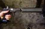 ZEV_Technologies_Custom_GlockWORX_Glock_17_(G17)_9mm_Pistol_Trijicon_RMR_Dual-Illumination_Mini-Red_Dot_Sight_Reflex_Sight_Silencerco_Osprey_9_Pistol_Silencer_Sound_Suppressor_SHOT_Show_2014_David_Crane_DefenseReview.com_(DR)_9