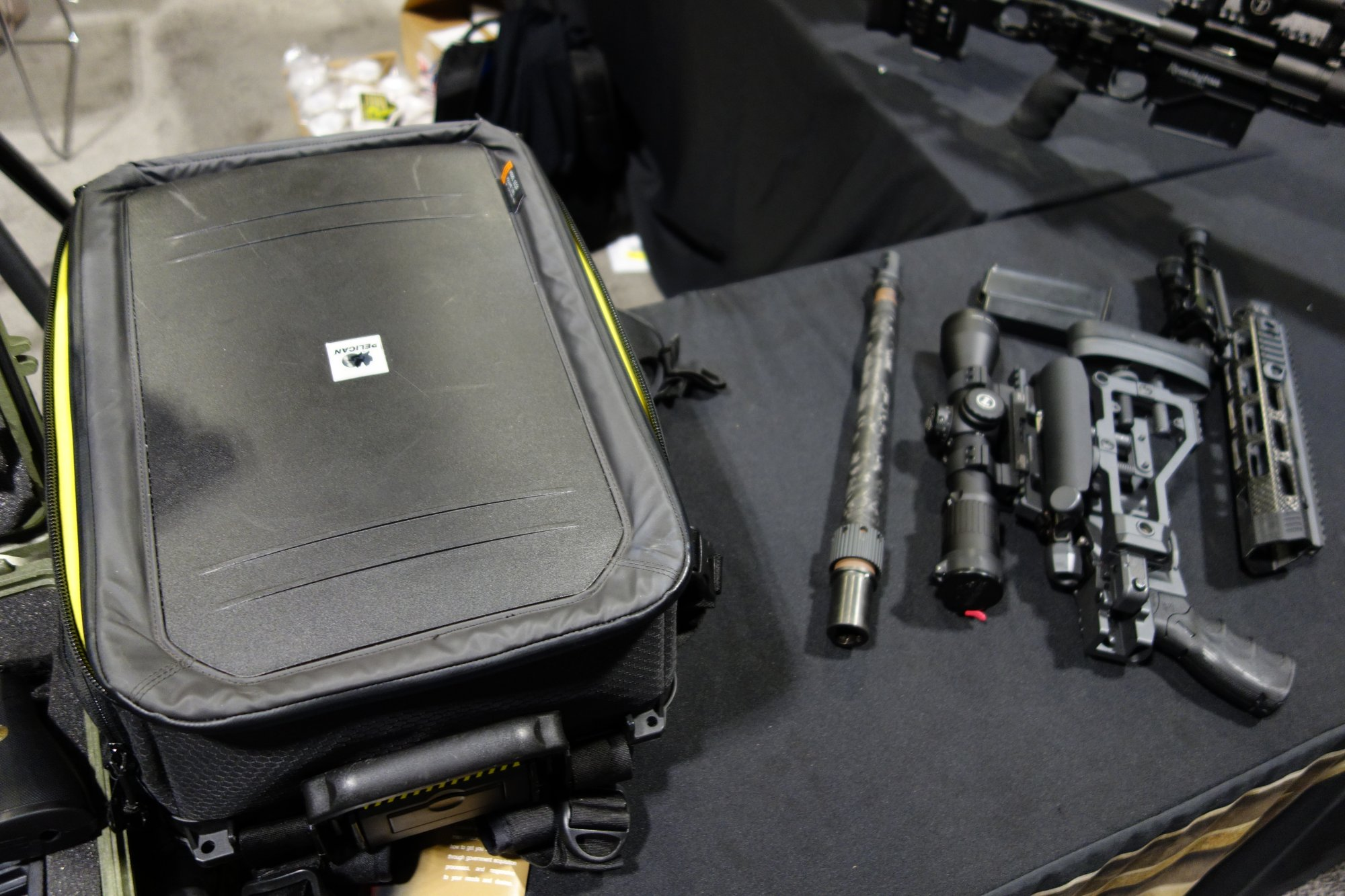 Remington Defense CSR Concealable Sniper Rifle Rucksack Rifle Breakdown Takedown Suppressed Sniper Carbine with Proof Research 16 inch Carbone Fiber Wrapped Barrel NDIA SOFIC 2014 David Crane DefenseReview.com DR 12 Remington Defense CSR (Concealable Sniper Rifle) Rucksack Rifle: Lightweight, Compact 7.62mm NATO/.308 Win. Bolt Action Breakdown/Takedown Suppressed Sniper Carbine with 14 16 Proof Research Carbon Fiber Wrapped Barrel for Your Backpack! (Video!)