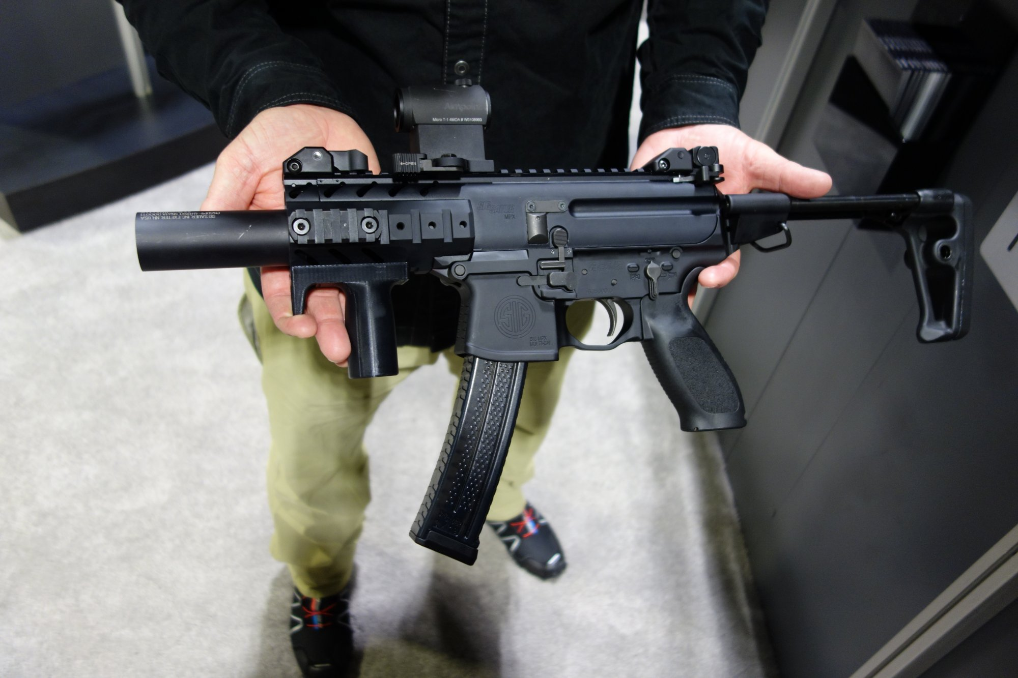 Sig Sauer Mpx Keymod Multi Cal Machine Pistol Mini