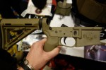 Tennessee_Arms_Company_TAC_Gen_IV_Hybrid_Polymer_Metal_AR-15_Lower_Receiver_with_Marine-Grade_Brass_Reinforcement_Inserts_Dave_Roberts_SHOT_Show_2014_David_Crane_DefenseReview.com_(DR)_3