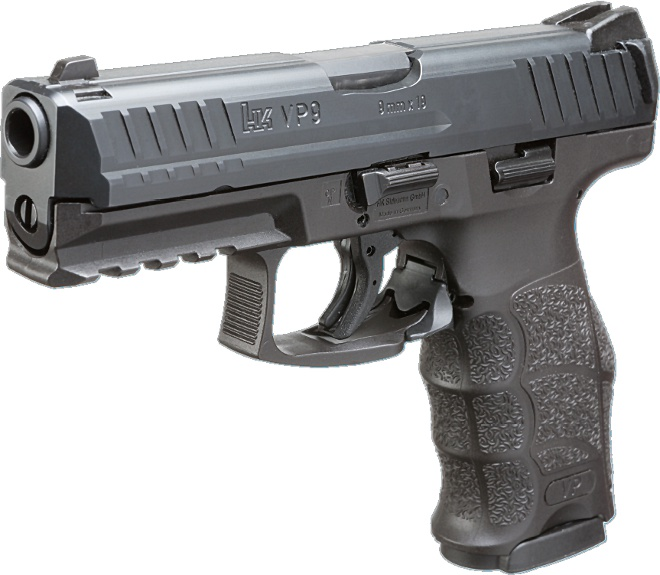 Heckler  Koch VP9 Striker Fired 9mm Pistol 9mm Parabellum 9x19mm NATO 4 Heckler & Koch HK VP9 Striker Fired, Polymer Framed 9mm Combat/Tactical Pistol with Ambi Controls: Better Late than Never...But is it Better than the Glock 17/19 and Smith & Wesson M&P9 Series Pistols? It may be, but well just have to see. (Video!)