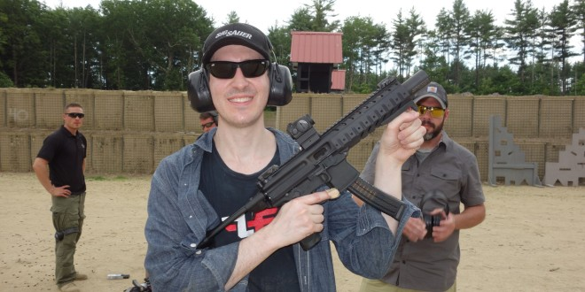 SIG MPX Multi-Caliber KeyMod Machine Pistol/Submachine Gun (SMG) and Suppressed SIG MPX SMG/PDW (Personal Defense Weapon) Fired on Full-Auto and Semi-Auto at SIG SAUER New Media Writers' Event (Video!)