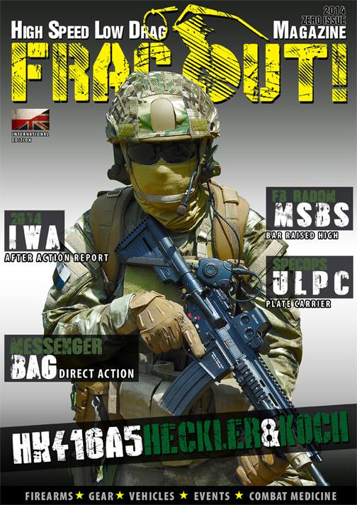 Frag Out Magazine Cover Small 1 FRAG OUT! High Speed, Low Drag Magazine Gets Launched from Poland (in English): If You Like Combat/Tactical Firearms,  Gear and Shooting, Youre Probably Really Gonna Like this Mag!