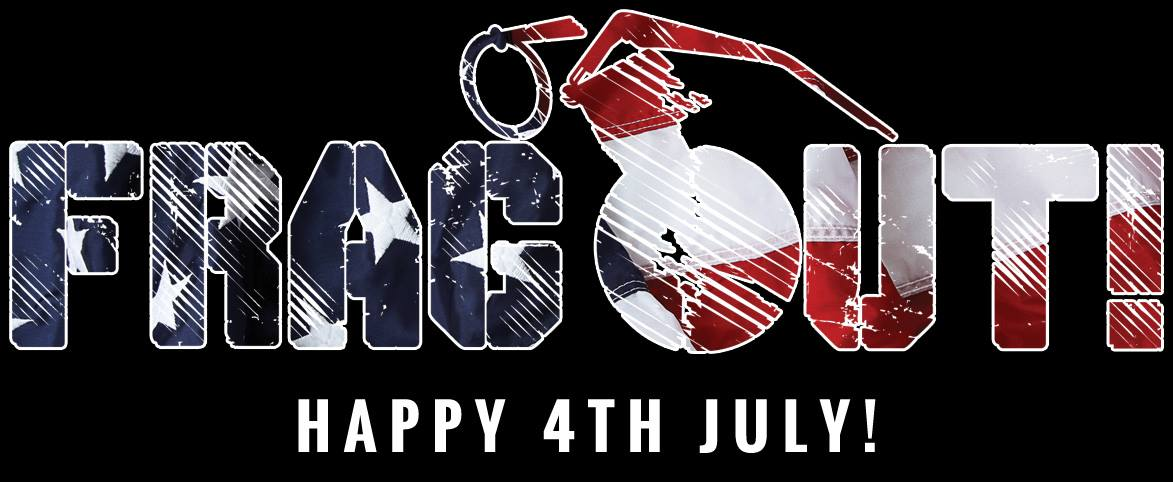 Frag Out Magazine Logo 4th of July Independence Day 2014 1 FRAG OUT! High Speed, Low Drag Magazine Gets Launched from Poland (in English): If You Like Combat/Tactical Firearms,  Gear and Shooting, Youre Probably Really Gonna Like this Mag!