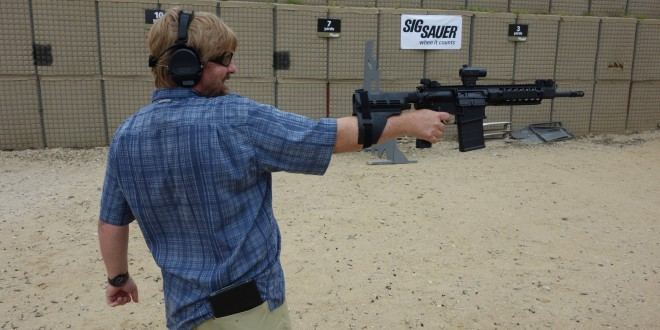 SIG SAUER SIGTac SB15 Pistol Stabilizing Brace for One-Handed Firing of Tactical AR-15 Pistols