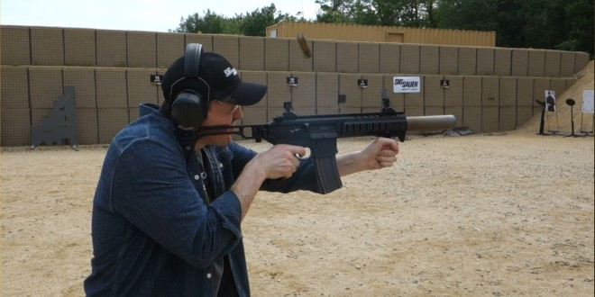 SIG MCX LVAW (Low-Visibility Assault Weapon) 'Black Mamba' Suppressed 300 Blackout (300BLK) Piston AR Assault SBR/PDW (Short Barreled Rifle/Personal Defense Weapon) Fired on Full-Auto and Semi-Auto with Subsonic and Supersonic Ammo During SIG SAUER New Media Writers' Event (Video!)