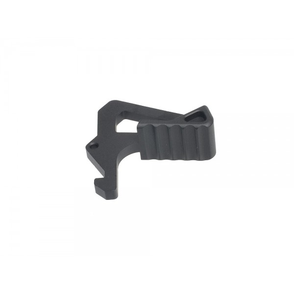 Strike Industries SI AR Latch Extended Latch for SI Charging Handle ARCH T6 7075 Aluminum AR 15 M4 M4A1 Carbine SBR Sub Carbine Premium Charging Handle DefenseReview.com DR 6 Strike Industries SI AR Charging Handle with SI AR Latch Extended Latch (ARCH EL): T6 7075 Forged Hard Anodized Aluminum Premium Charging Handle for Tactical AR 15/M4/M4A1 Carbine/SBR/PDWs