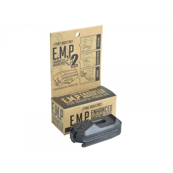 Strike Industries SI Ehanced Magazine Plate EMP Plus 2 Round Capacity for MagPul PMAG M2 30 Round AR Rifle Magazine DefenseReview.com DR 4 Strike Industries SI Enhanced Magazine Plate (EMP) +2 Round Magazine Extension for MagPul PMAG 30 Polymer AR 15/M4/M4A1 Carbine/Rifle Magazine