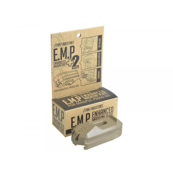 Strike Industries SI Ehanced Magazine Plate EMP Plus 2 Round Capacity for MagPul PMAG M2 30 Round AR Rifle Magazine DefenseReview.com DR 8 Strike Industries SI Enhanced Magazine Plate (EMP) +2 Round Magazine Extension for MagPul PMAG 30 Polymer AR 15/M4/M4A1 Carbine/Rifle Magazine
