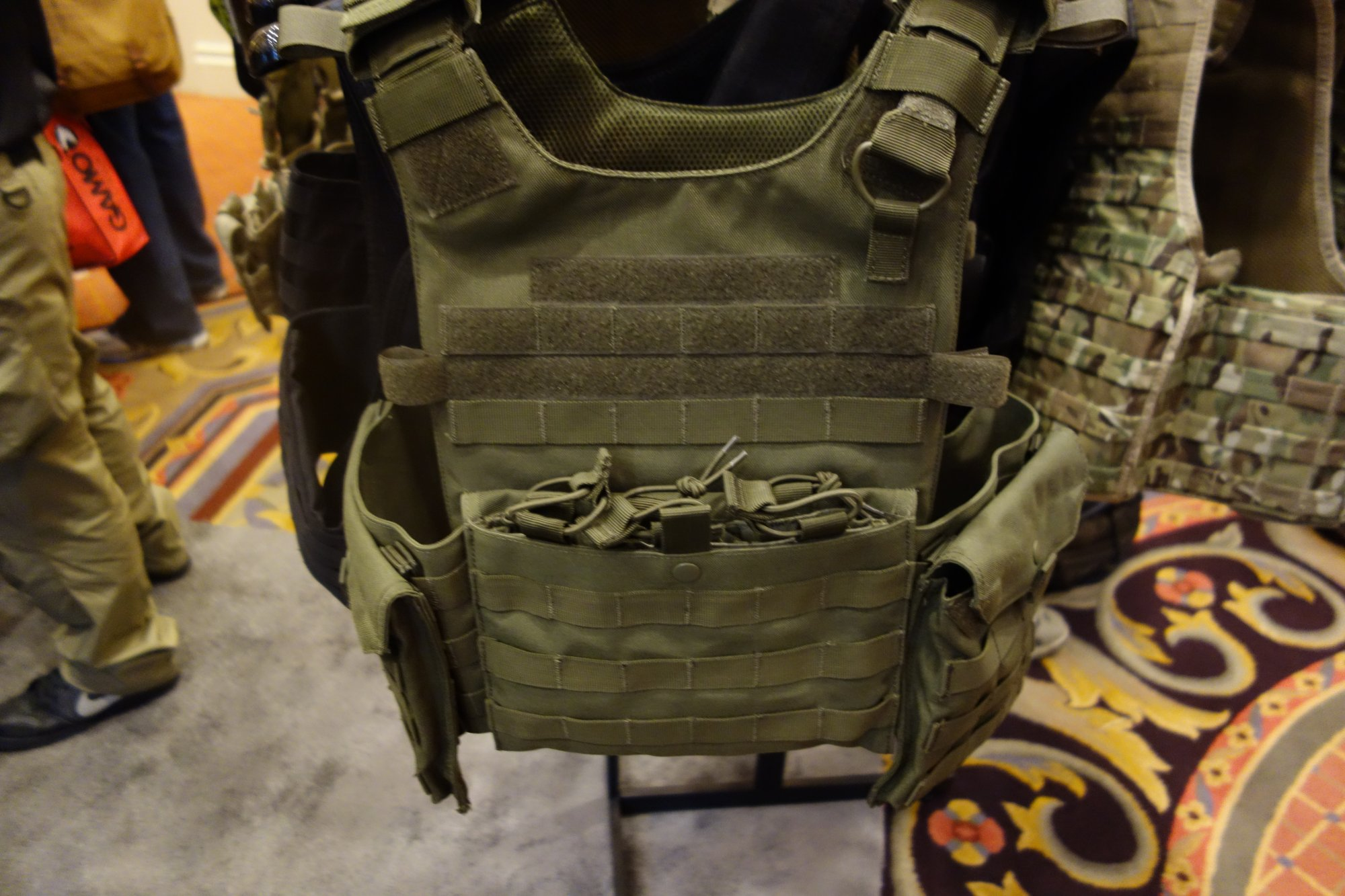 Condor Gunner Lightweight Plate Carrier Quick Release Tactical Armor Plate Carrier Body Armor Tactical Vest Henry Ko Condor Outdoor Products SHOT Show 2014 David Crane DefenseReview.com DR 1 Condor Gunner Lightweight Plate Carrier: Minimalist Quick Release Tactical Armor Plate Carrier/Tactical Vest (Body Armor) for Tactical Operations