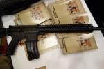 Midwest_Industries_MI_SSK12_Minute_Man_Rifle_16-inch_Mid-Length_DGI_Tactical_AR-15_Carbine_with_MI_SSK12_KeyMod_Handguard_Tactical_Handguard_Rail_System_SHOT_Show_2014_David_Crane_DefenseReview.com_(DR)_6