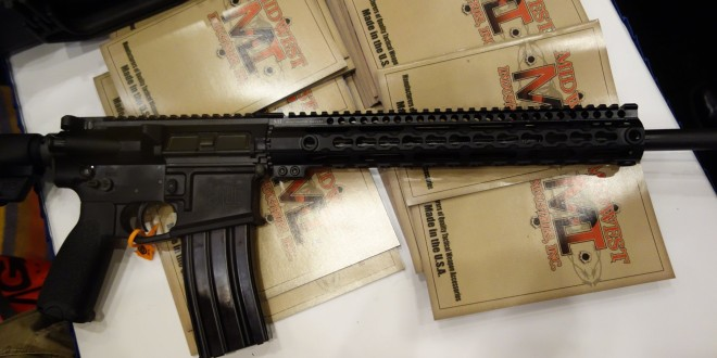 Midwest Industries MI SSK12 Minute Man Rifle with MI SSK12 KeyMod Handguard: Complete MI 16″ Mid-Length DGI Tactical AR-15 Carbine with Premium Components! (Video!)
