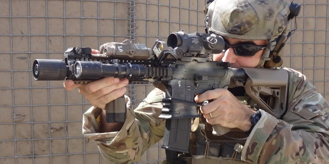U.S. Military Operator Conducts 2x2x2 Tactical Shooting Drill on Semi-Auto and Full-Auto Using MK18 Mod 1/M4A1 CQBR Upper Receiver SBR with FERFRANS (FF) DSAS/RRS BCG and FF CQB MMBS/CRD! (Video!)