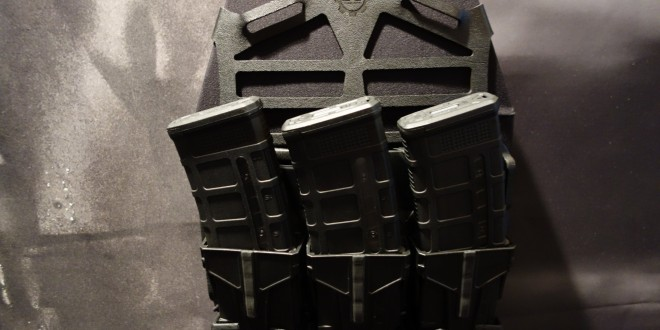 S&S Precision Skeletonized Magazine Retention (SMR) with Dust Eliminator(s): Minimalist, Modular Lightweight Polymer Rifle Mag Carrier/Pouch for Tactical Armor Plate Carriers (Video!)