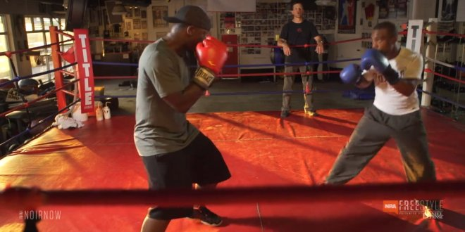 NRA Freestyle's 'Noir' Episode 18 'Puncher's Chance': Colion Noir Faces Off Against Professional Featherweight Boxer Gary Russell Jr. at the Range, and in the Ring! (Video!)