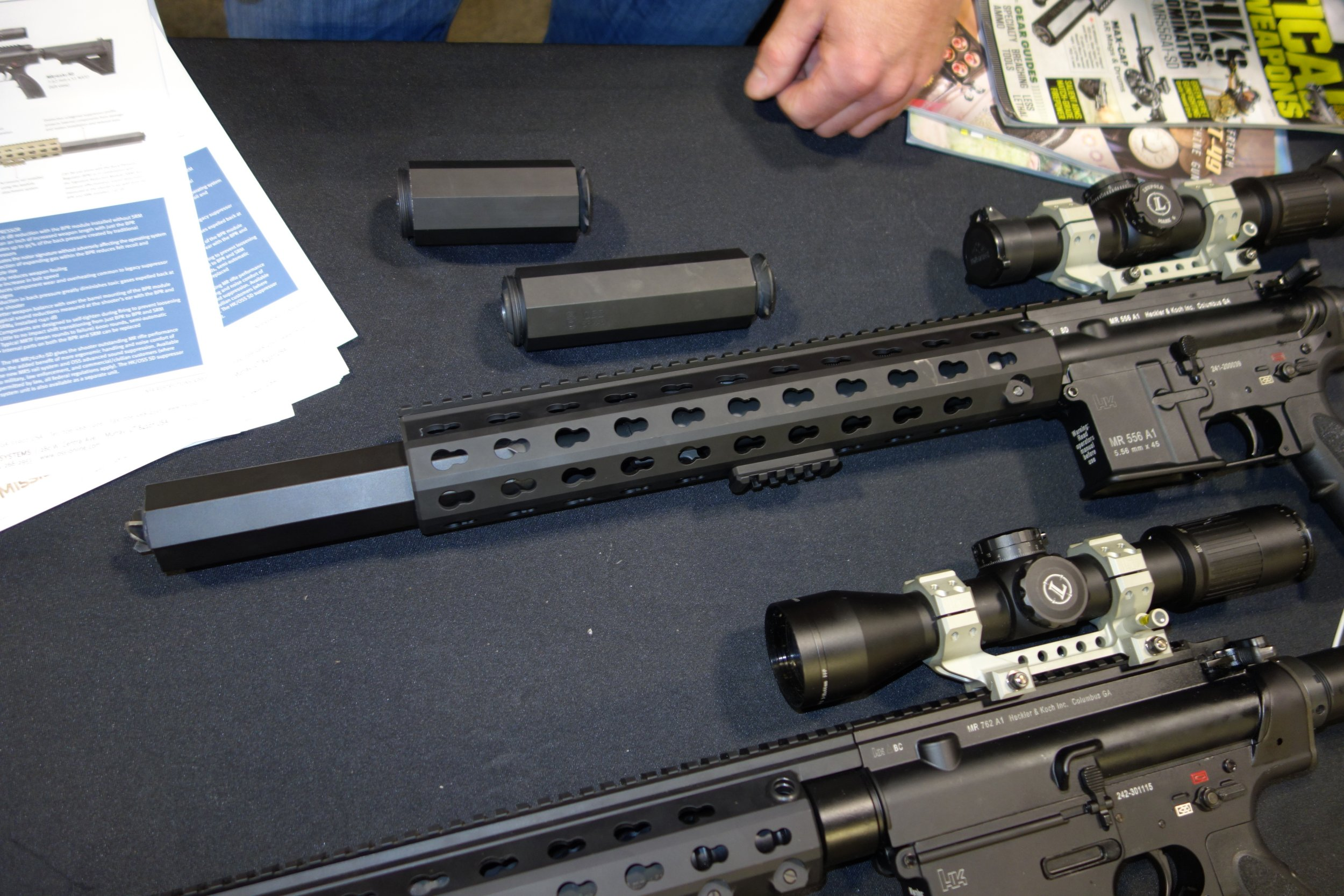 Operators Suppressor Systems/OSS Mission Muzzle Cans: Almost No Back