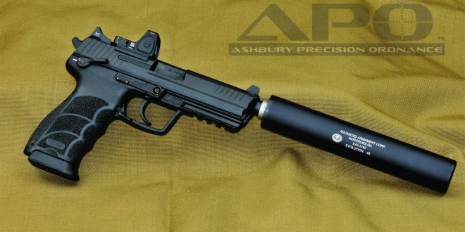 Ashbury Precision Ordnance APO Custom Shop (APOCS) Now Upgrading/Customizing and Optically Enhancing Combat/Tactical Pistols with the Trijicon RMR Red Dot Combat Optic and Co-Witnessed Trijicon Night Sights for Combat and Competition Shooting: Upgraded Triggers, Tactical Controls and Texturizing, Too!
