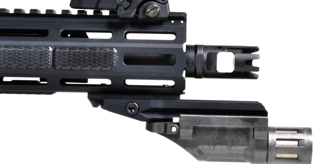 Strike Industries SI Ricci-ERS (Extended Rail Section) Cantilever Rail Section for Tactical AR-15 Carabine/SBR's