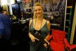Serbu_Firearms_SU-15_PDW_(Personal_Defense_Weapon)_SBR_Carbine_Gas_Piston_Op-Rod_Tactical_AR-15_Short Barreled Rifle_Semi-Auto-Only Carbine_with_Skeletonized_Folding_Stock_SHOT_Show_2015_David_Crane_DefenseReview.com_(DR)_3