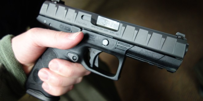 Hands-On with Beretta APX Striker-Fired, Polymer-Frame Semi-Auto 9mm/.40 S&W Combat/Tactical Pistol Prototype!: Initial Impressions (Photos!)