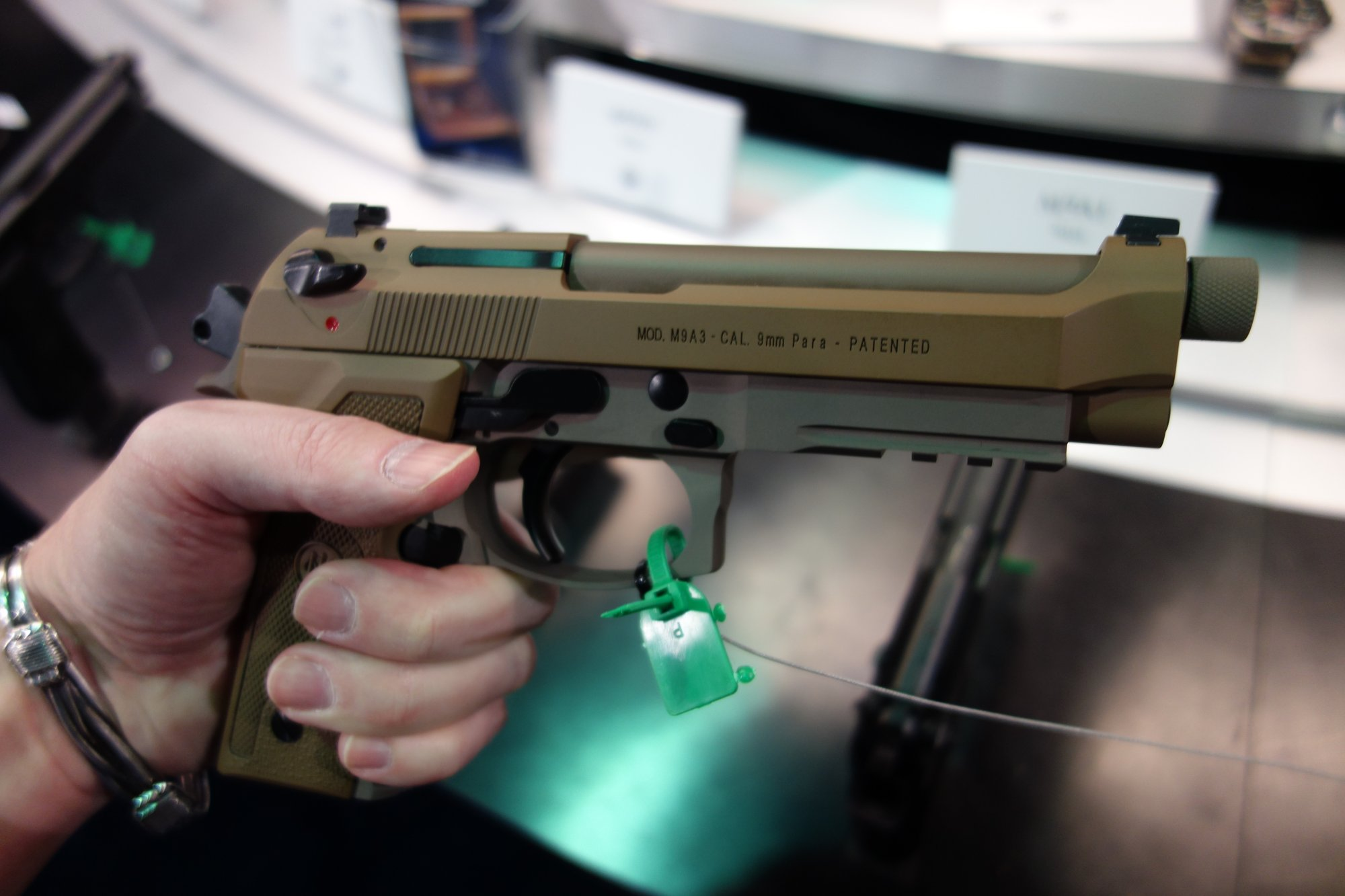 Beretta M9A3 High-Capacity 9mm Combat/Tactical Pistol with 17-Round