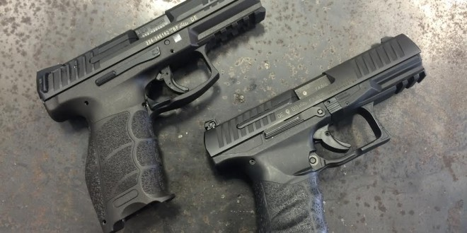 Walther PPQ M1 Classic versus Heckler & Koch HK VP9: High-Capacity Polymer-Frame, Striker-Fired Combat/Tactical 9mm Pistol Face-Off!