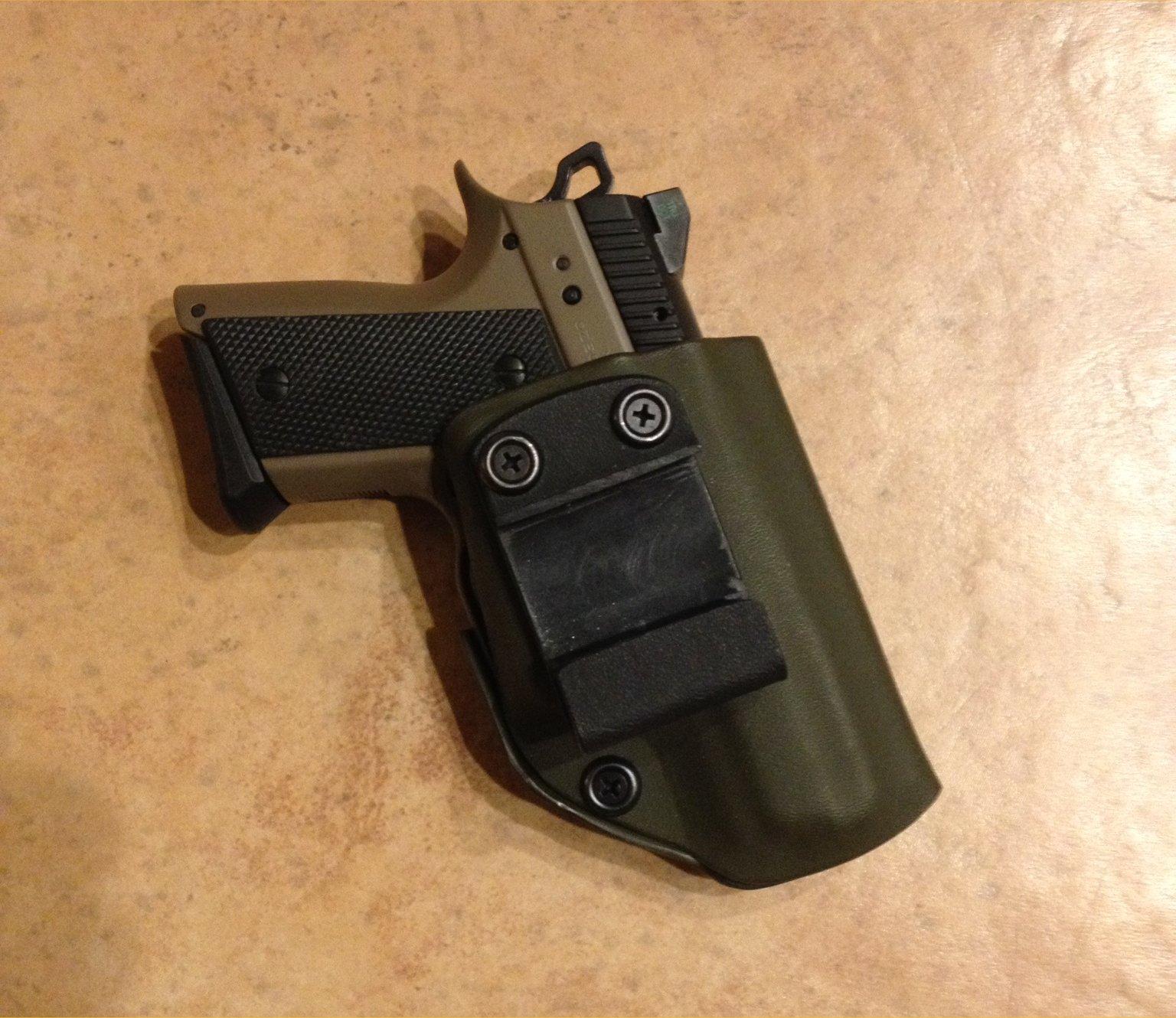 Cz 2075 Rami Bd Decocker Big Gun Performance In A Sub Compact Da