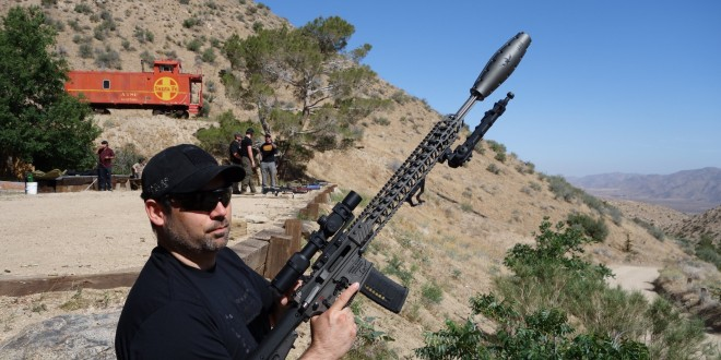 JJFU Aero-Sonic Suppressor 5.56mm Silencer/Sound Suppressor by Jesse James Firearms Unlimted for Tactical AR Rifle/Carbine/SBR's: Meet the Silent (Metal) Squash of Death