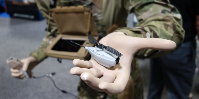 Prox Dynamics PD-100 BLACK HORNET PRS (Personal Reconnaissance System) Micro Helicopter Drone: Palm-Sized 'Nano UAS' Provides Cargo Pocket ISR Capability for Infantry Recon Ops! (Video!)