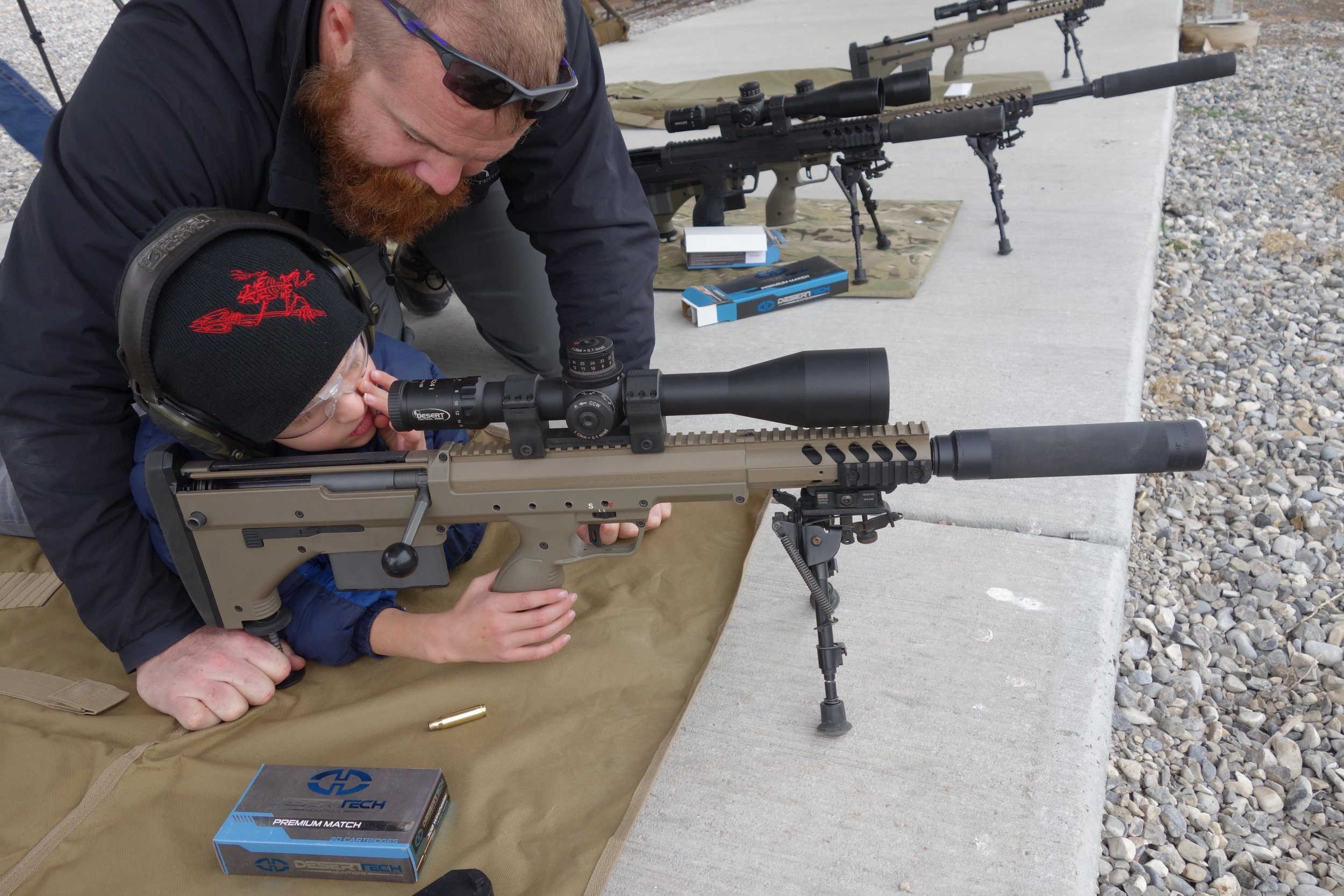 Gun review desert tactical arms stealth recon scout dta srs rifle - 6 Year Old Kid Gets Quick Hits With Suppressed Desert Tech Dt Srs A1 Covert Stealth Recon Scout A1 Covert Bullpup Anti Materiel Sniper Rifle Carbine