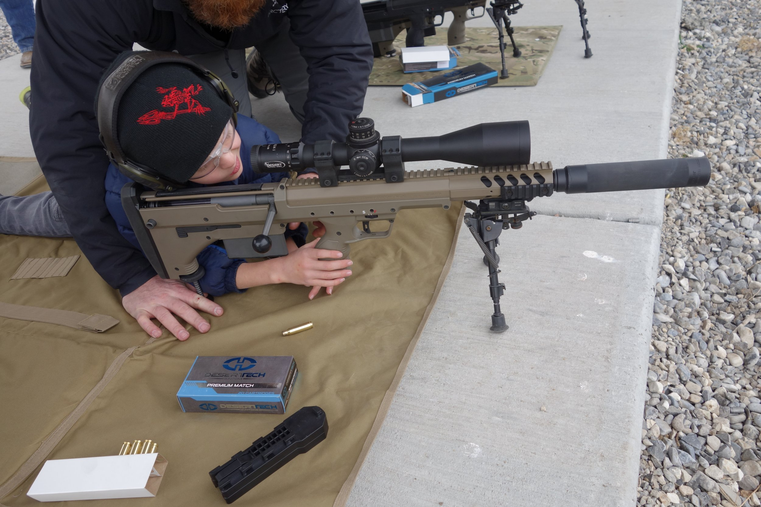 Gun review desert tactical arms stealth recon scout dta srs rifle - An Error Occurred