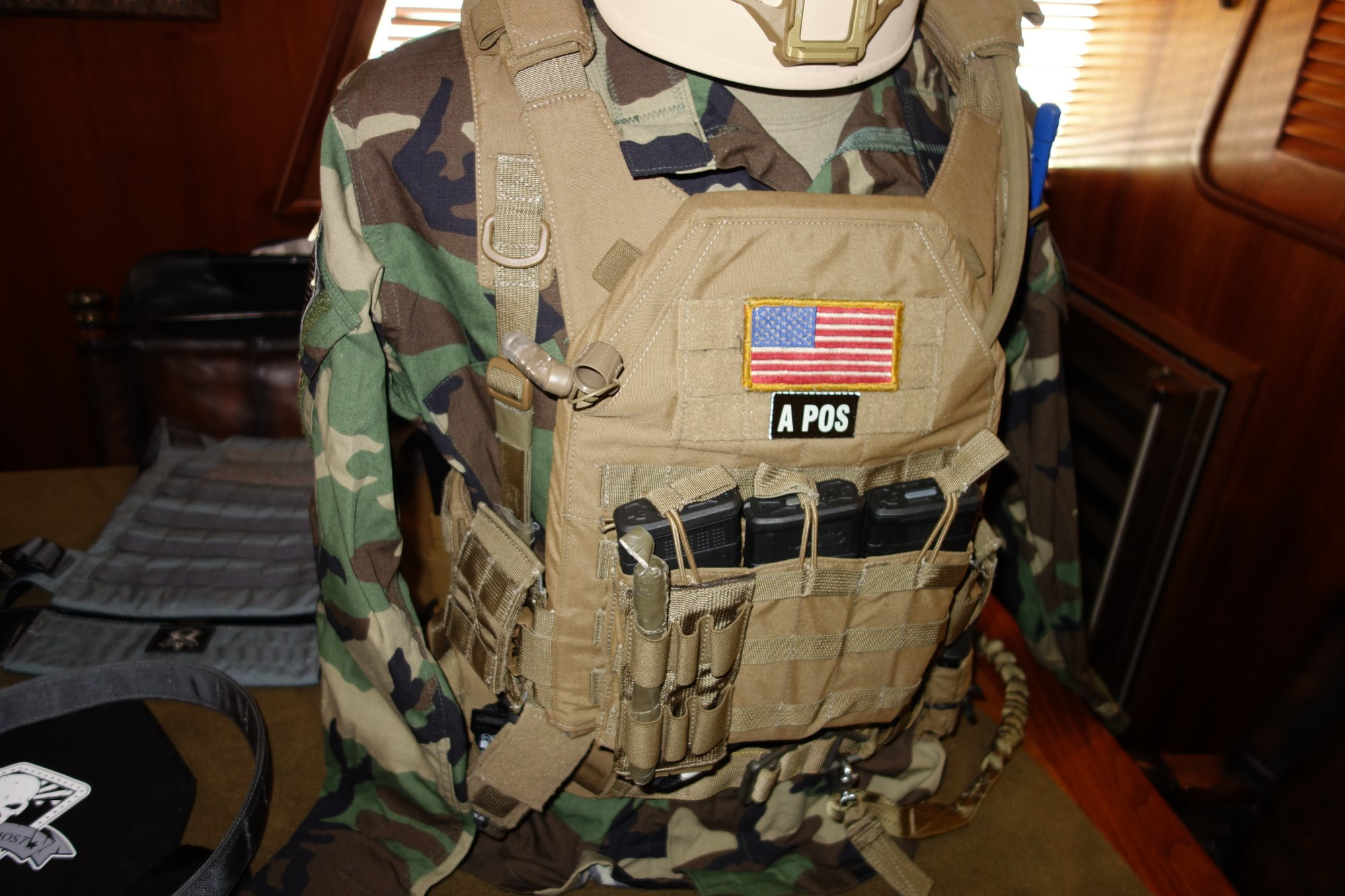 Grey Ghost Gear (GGG) Lo-Vis MBAV and Minimalist Plate Carrier ...