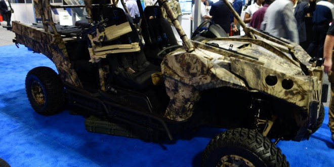 RP Advanced Mobile Systems RPAMS Can-Am Strike-M/M4 Maverick Fast-Attack Vehicle (FAV) in Kryptek Camouflage Hits Almost 80 MPH Off-Road for Military Special Operations Forces (SOF) Missions! (Video!)